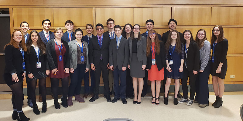 Learning to Address Global Issues Through Model UN photo