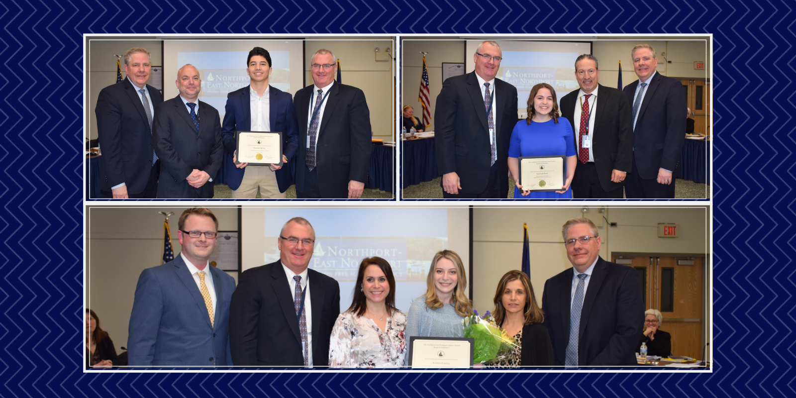 Student Standouts Recognized by the Board of Education