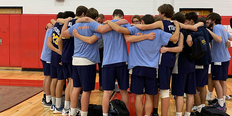 Northport HS Boys Varsity Volleyball advances to semifinals photo
